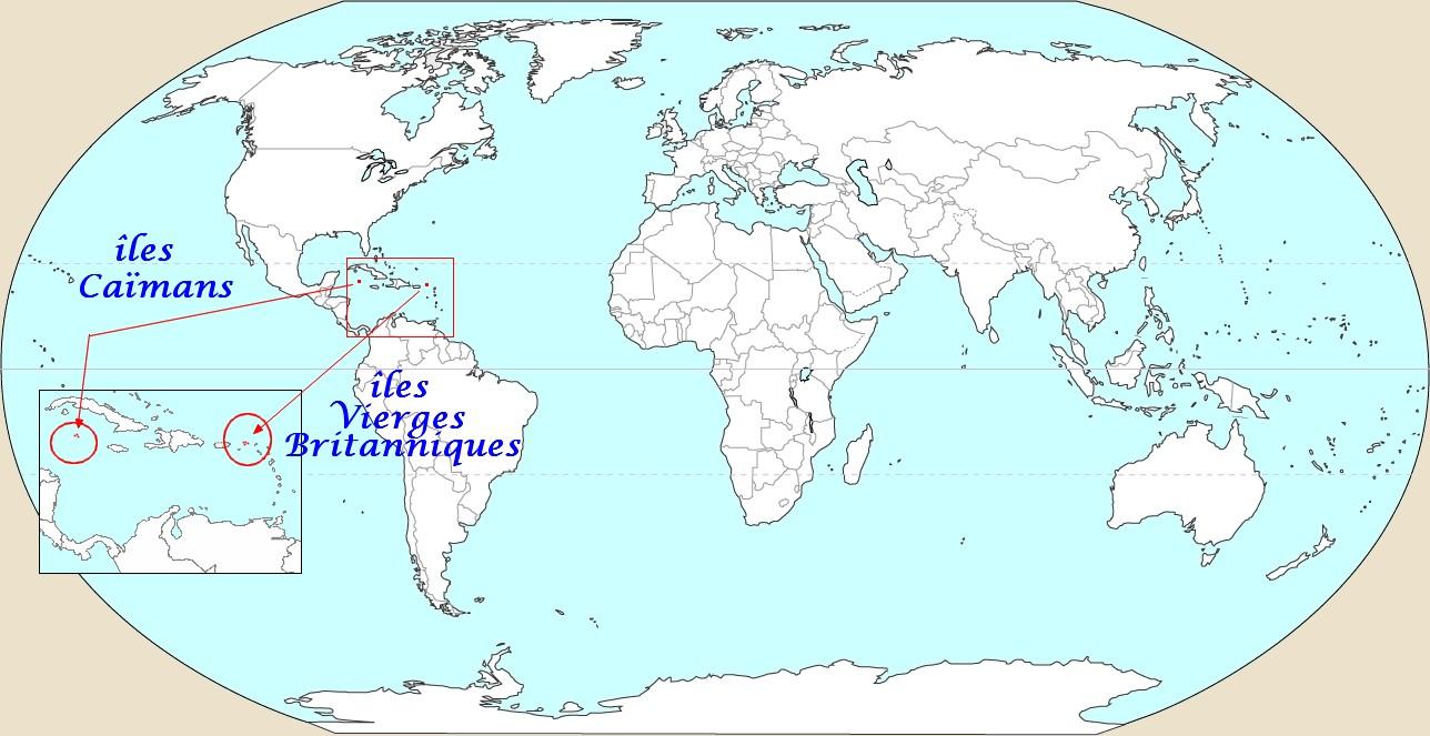 Carte-Iles-Caïmans