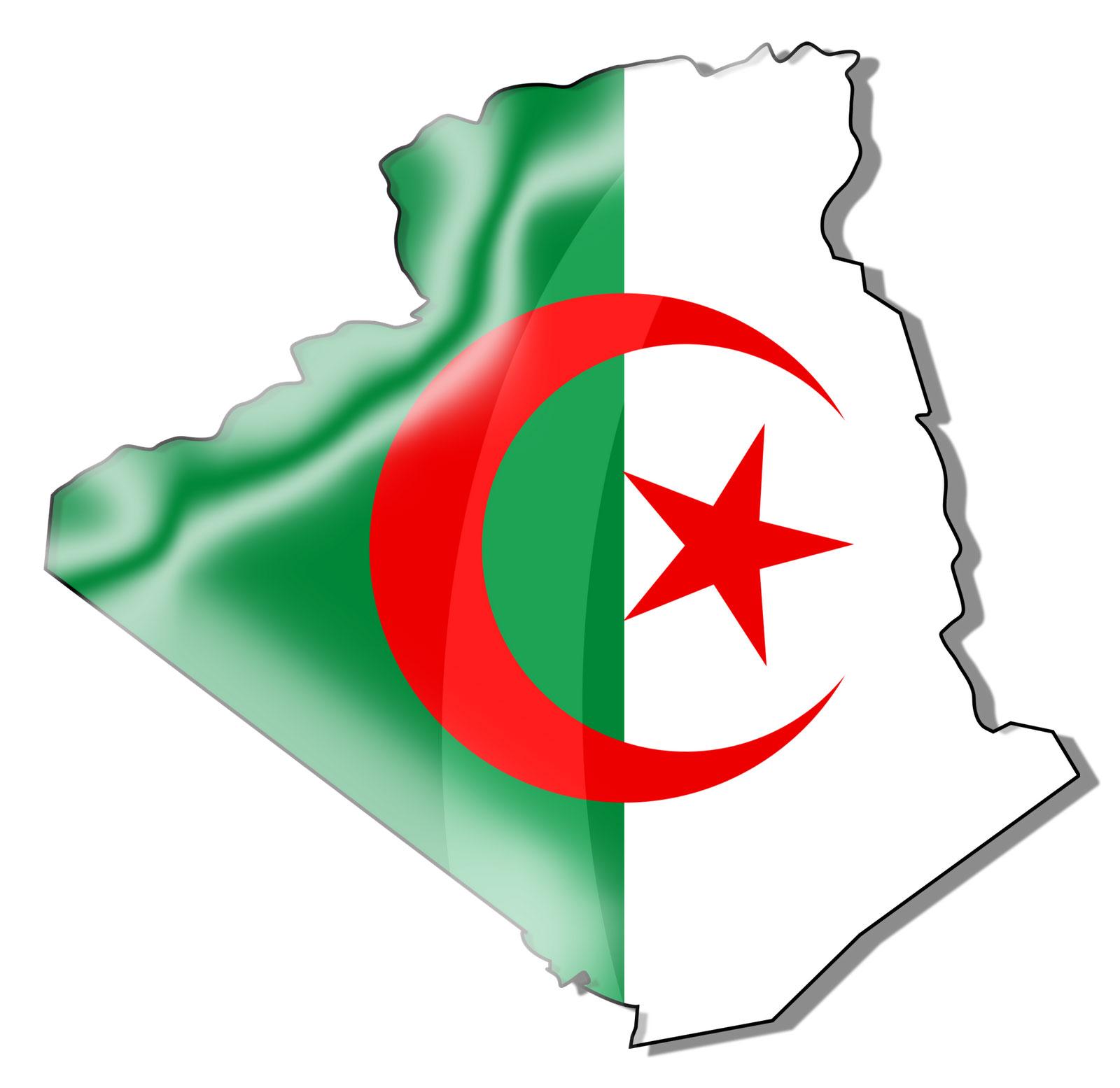 Carte Algérie