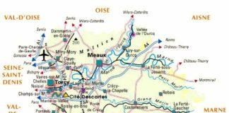 Seine et Marne - Plan