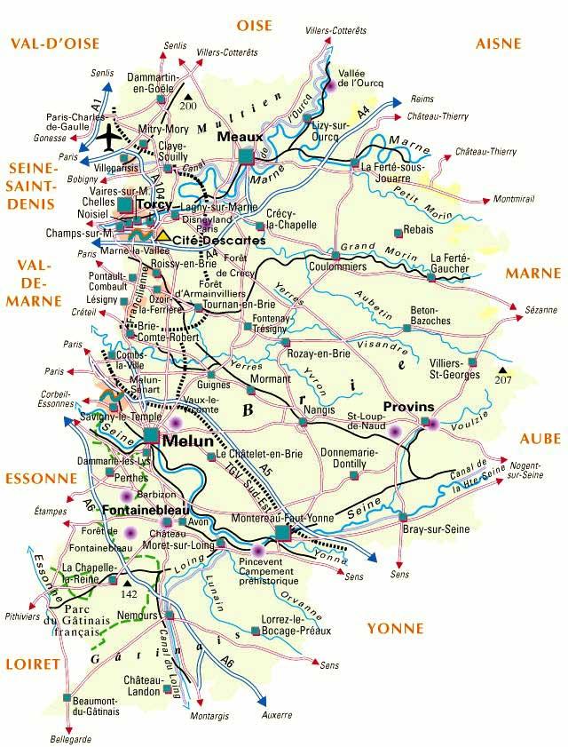 77 Seine-et-Marne – Plan