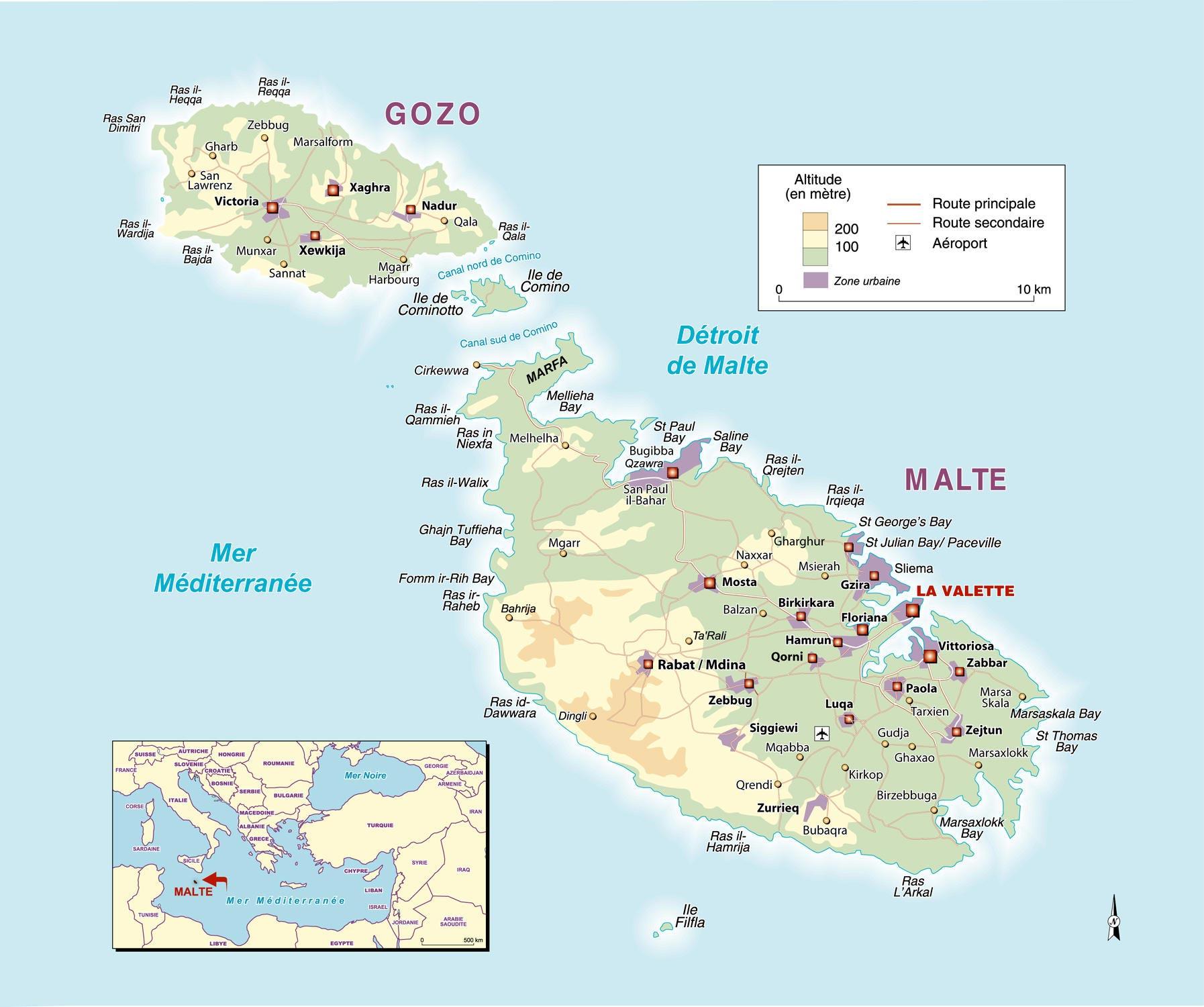 Carte Malte