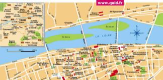 Plan de Tours