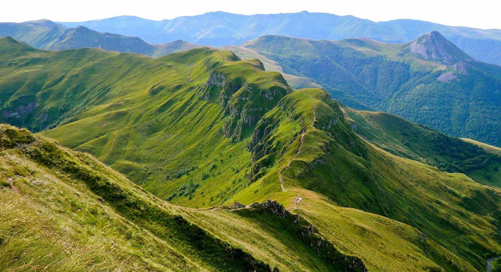 Cantal paysage voyages cartes - Office de tourisme cournon d auvergne ...