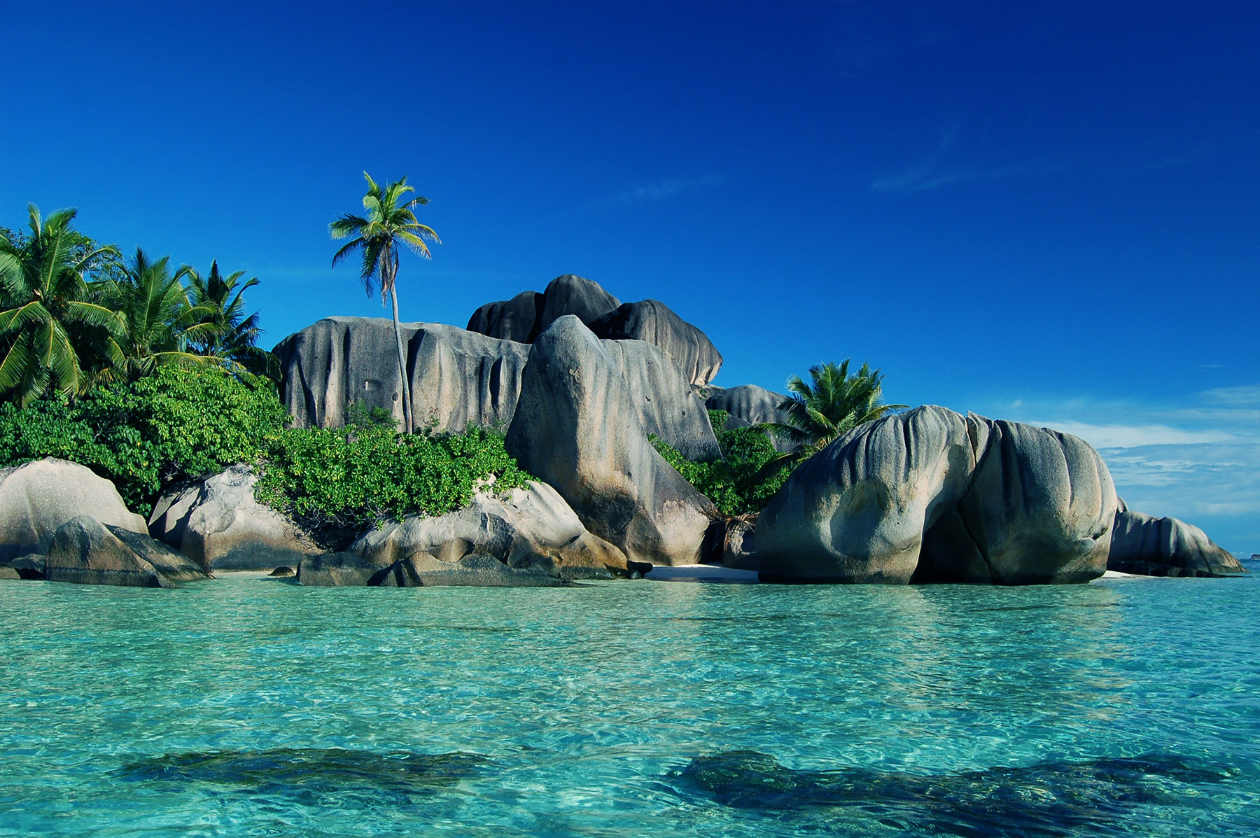Les seychelles for Beautiful beaches in la