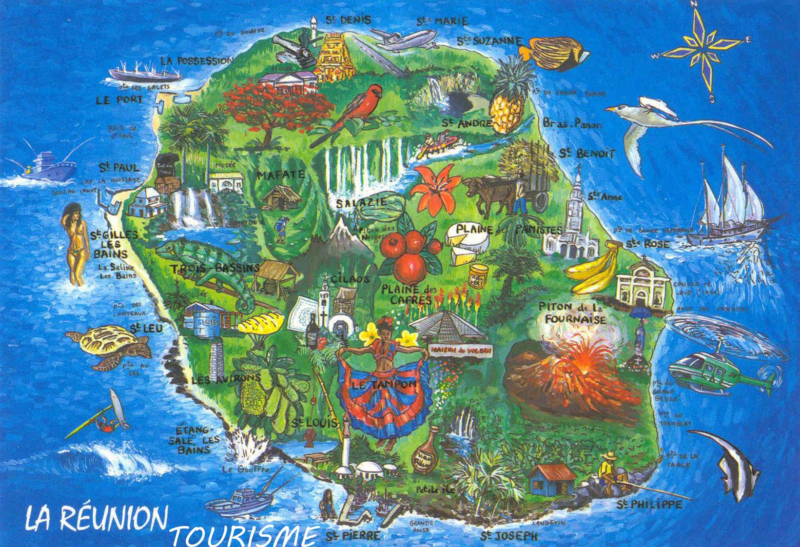 La Réunion - Tourisme