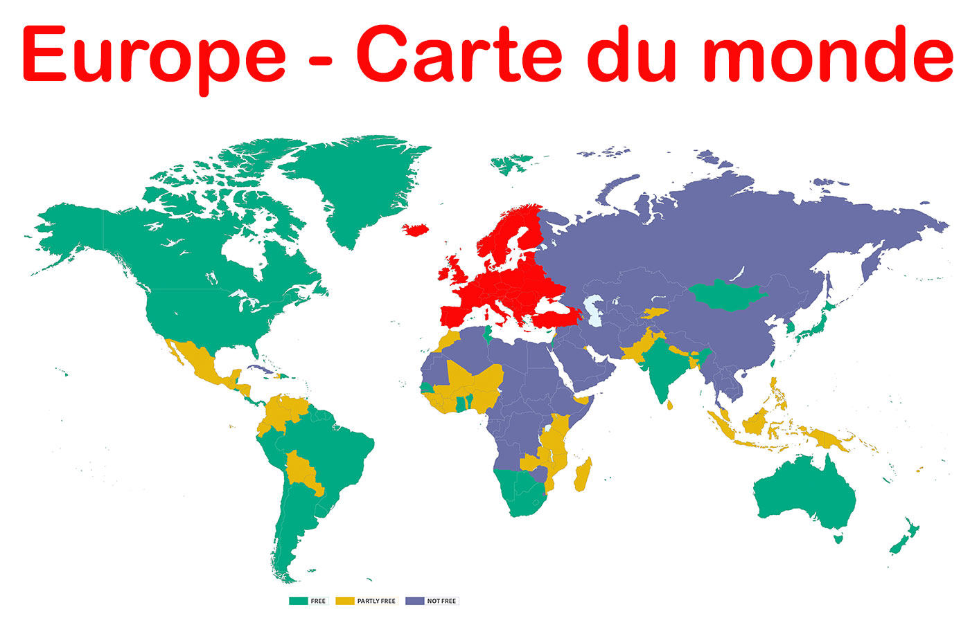 Carte europe monde my blog for Maison du monde italie