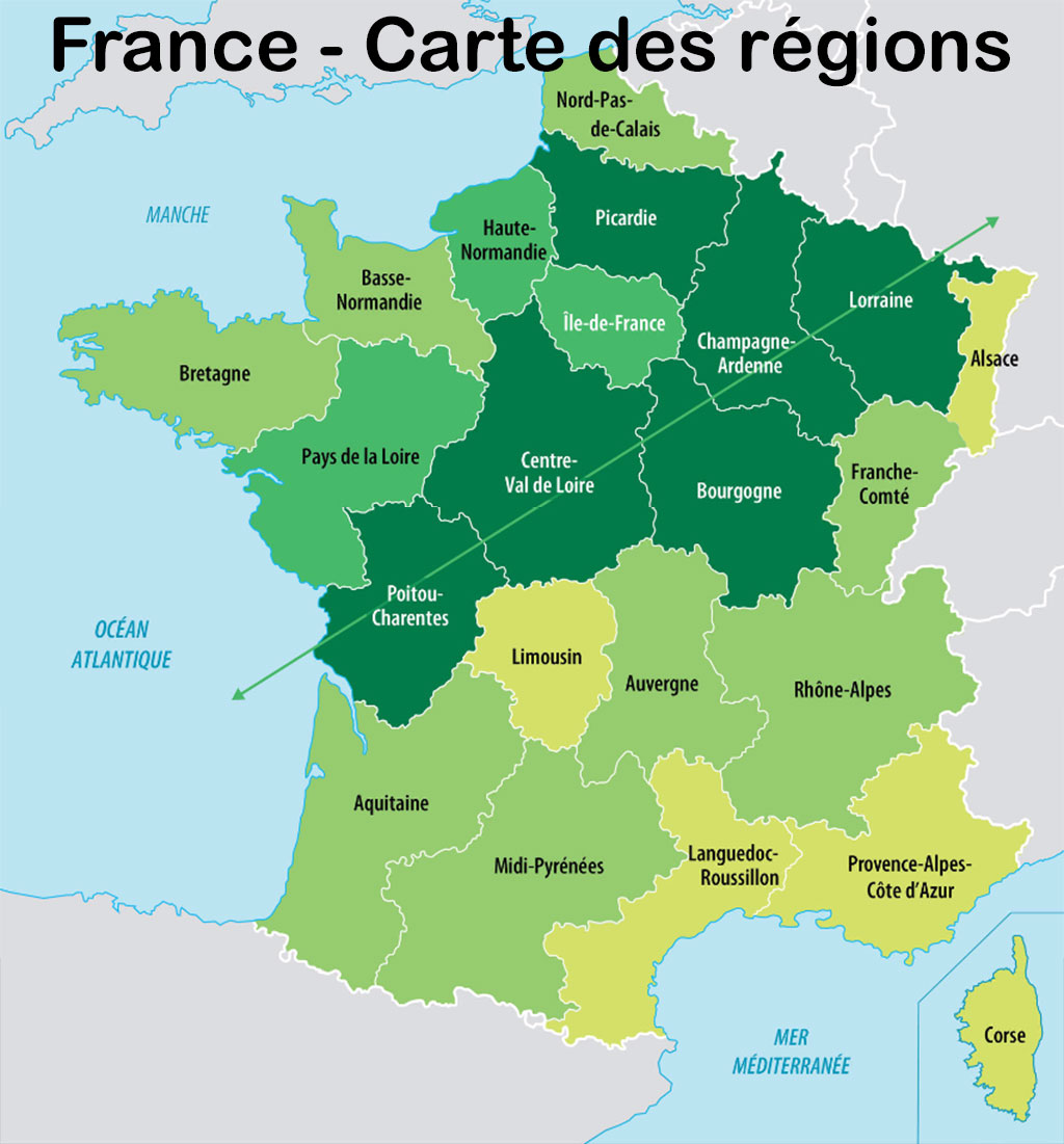 Carte france la carte de france des rgion et tattoo for Assureur dommage ouvrage
