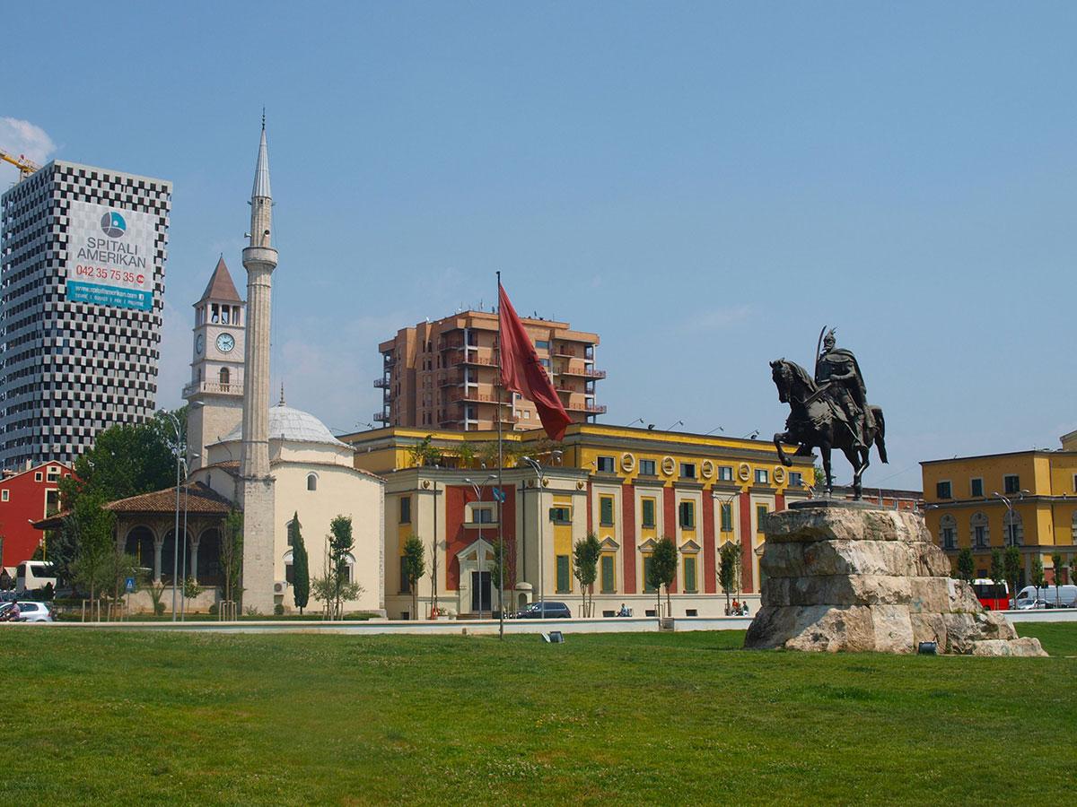 Albanie Capitale - Tirana