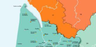 Gironde - Carte et Plan