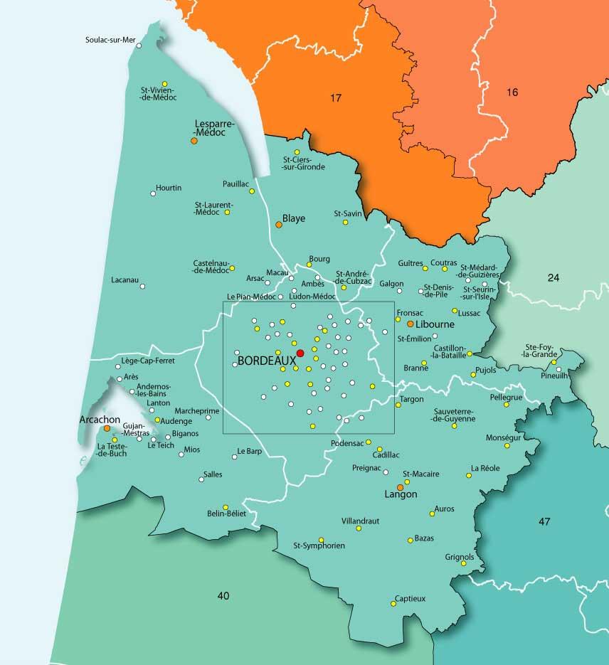 33 Gironde – Plan