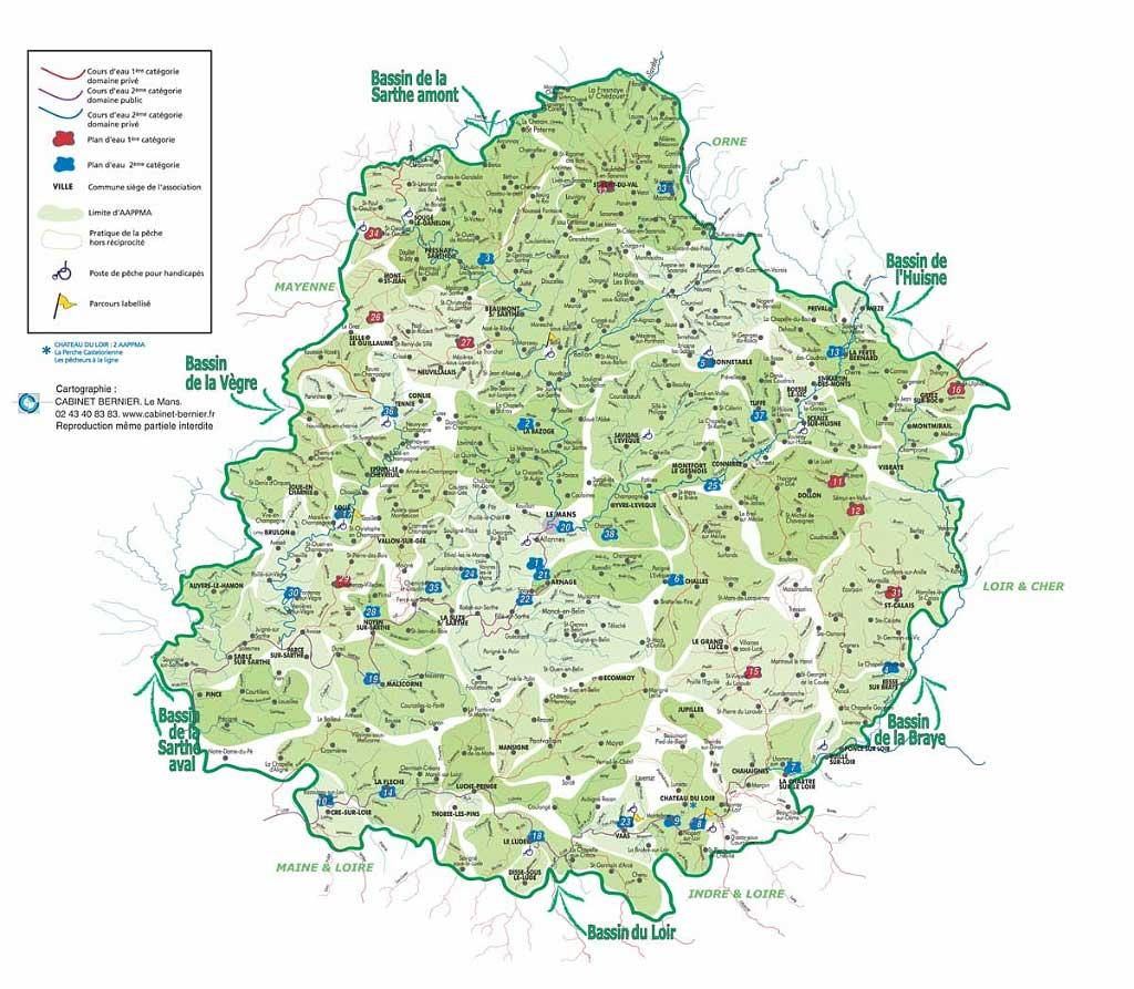 72 Sarthe – Plan