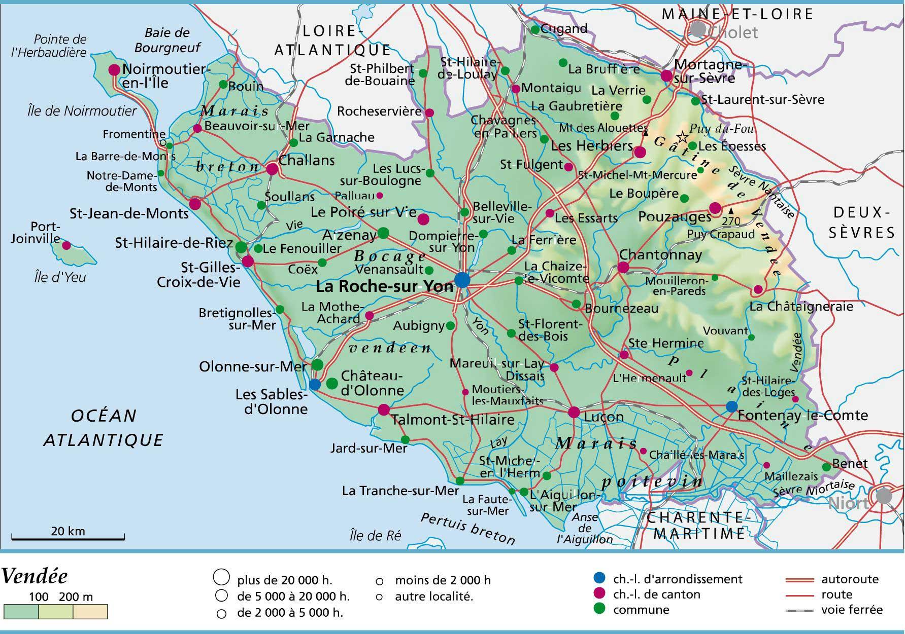 85 Vendée – Plan