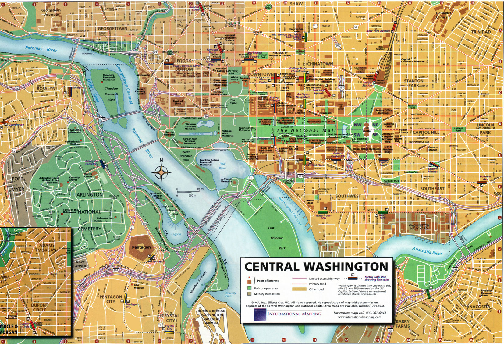 Carte de Washington