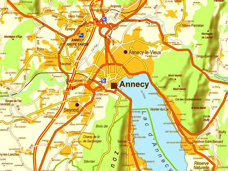 annecy-carte