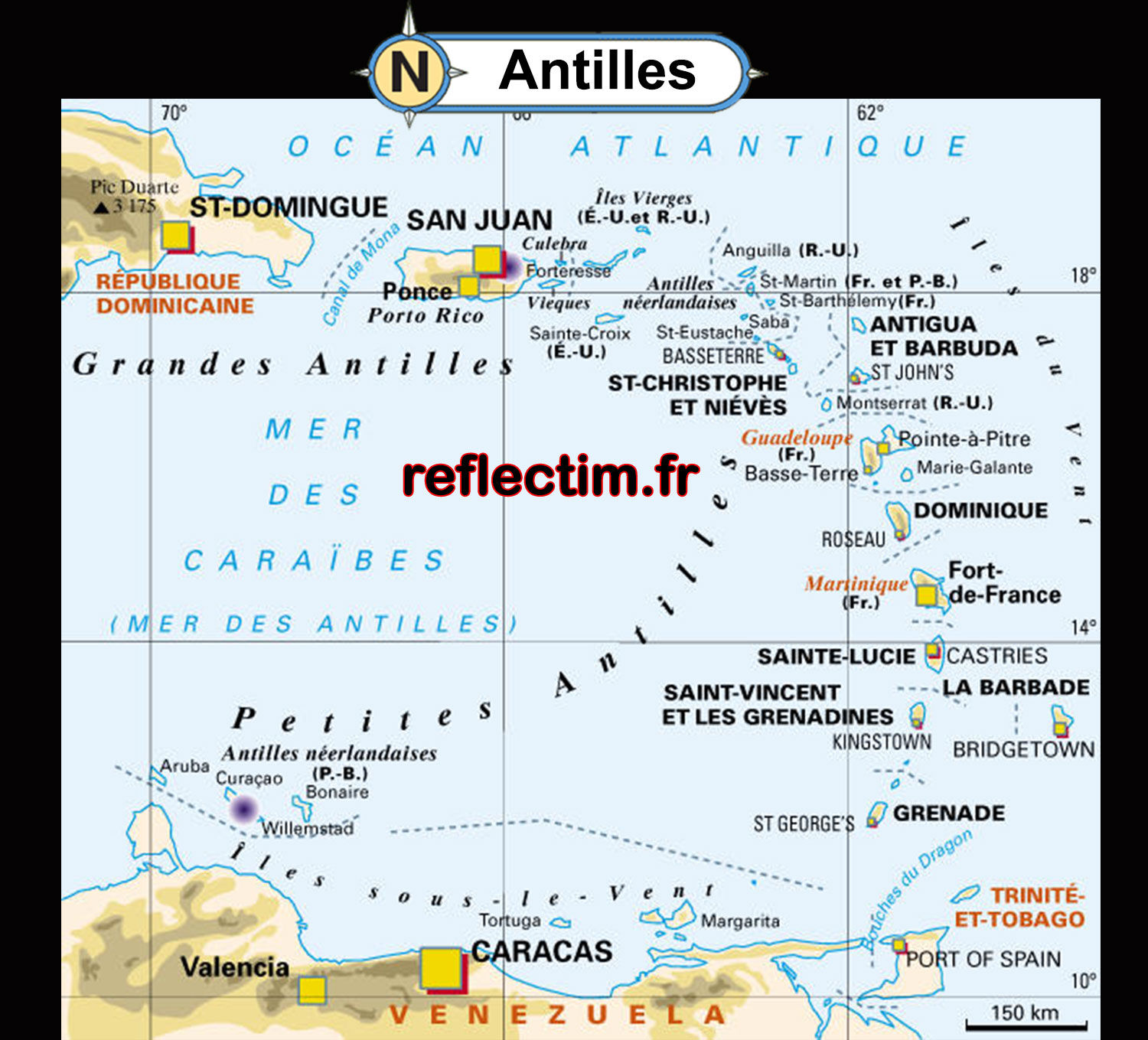 antilles-carte