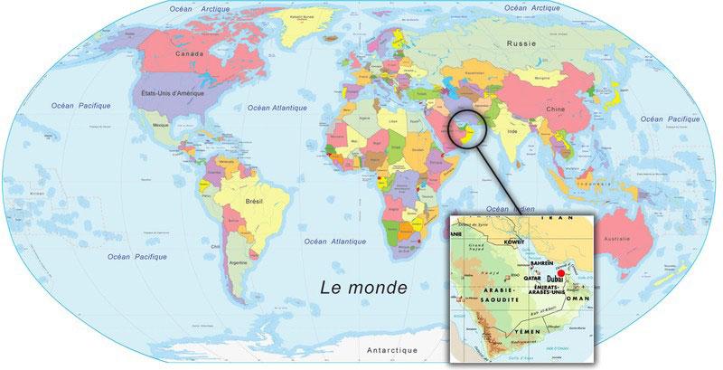 carte-du-monde-dubai