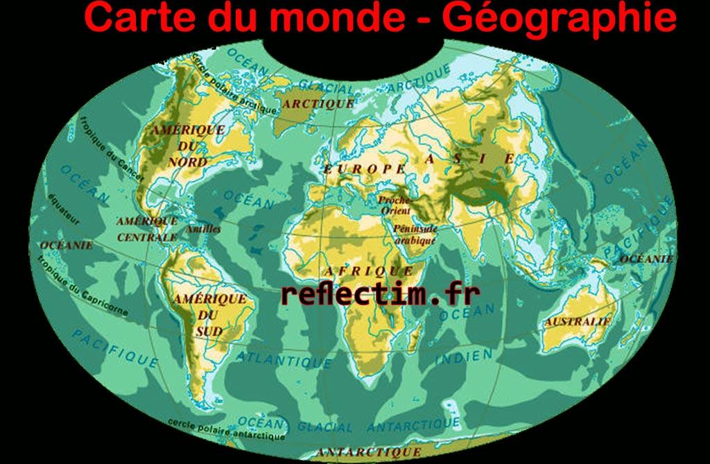 carte-du-monde-géographie