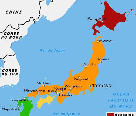 Kyoto carte du monde