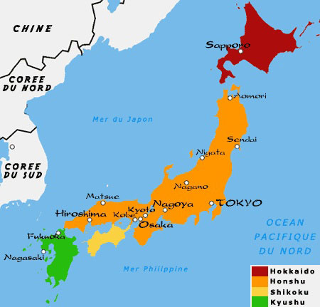 Carte du monde kyoto