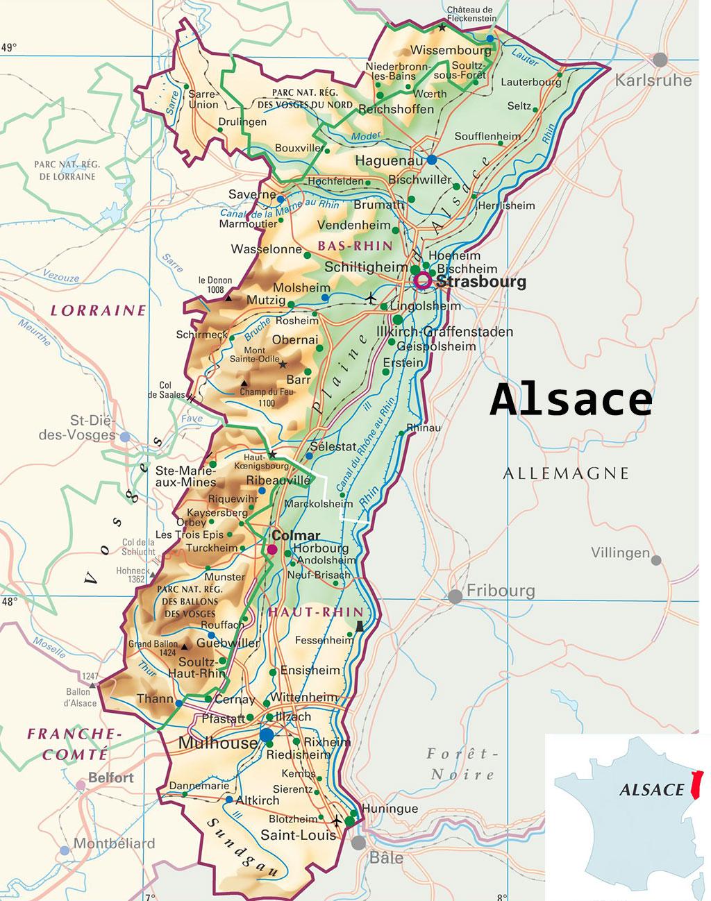 Carte-Alsace
