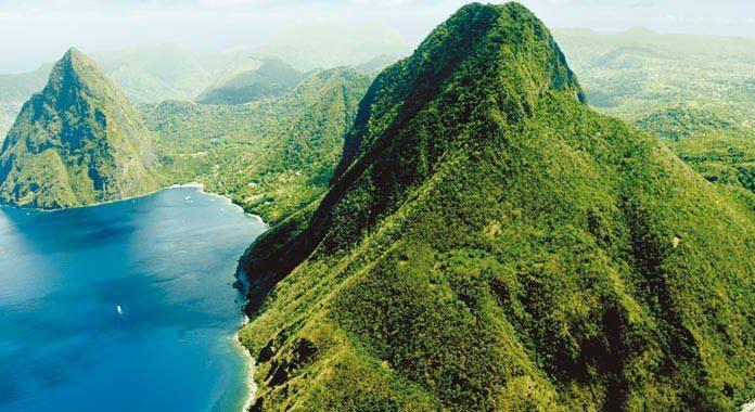 La Soufrière - Sainte Lucie