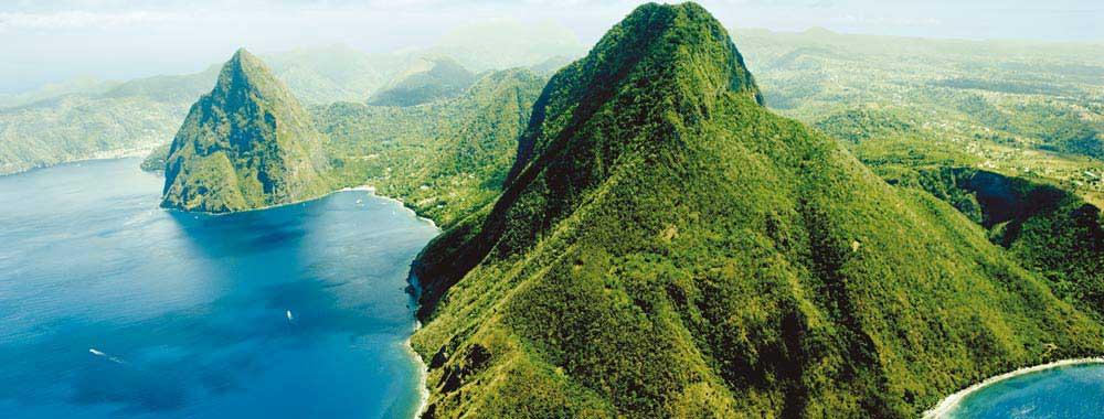 La Soufrière Sainte Lucie