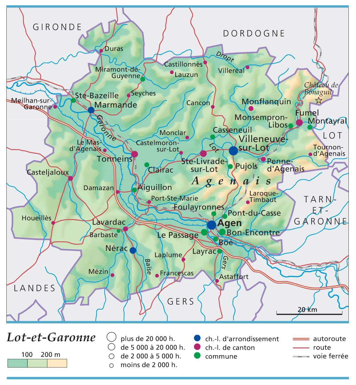 Lot-et-Garonne – Département 47