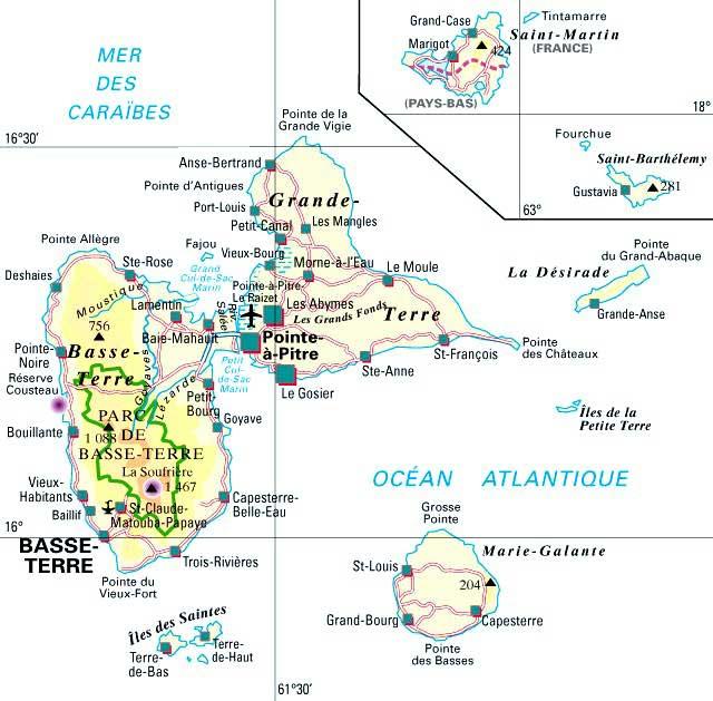 Guadeloupe – Département 971