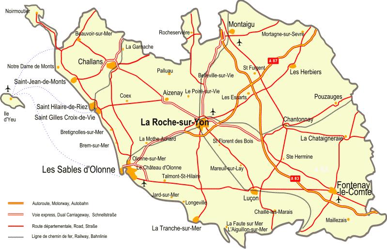 Vendée – Département 85