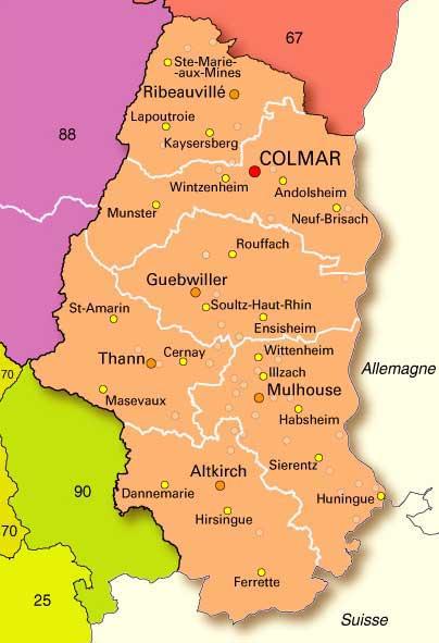 Haut-Rhin – Département 68