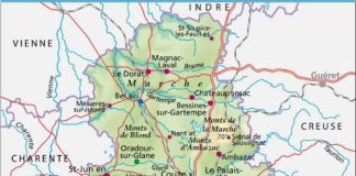 Haute-Vienne-carte