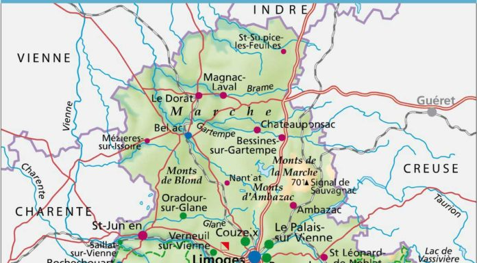 Aveyron voyages cartes for 87 haute vienne carte