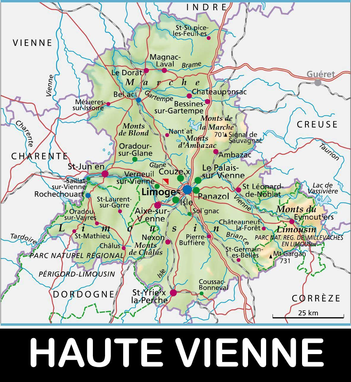 Haute-Vienne – Département 87