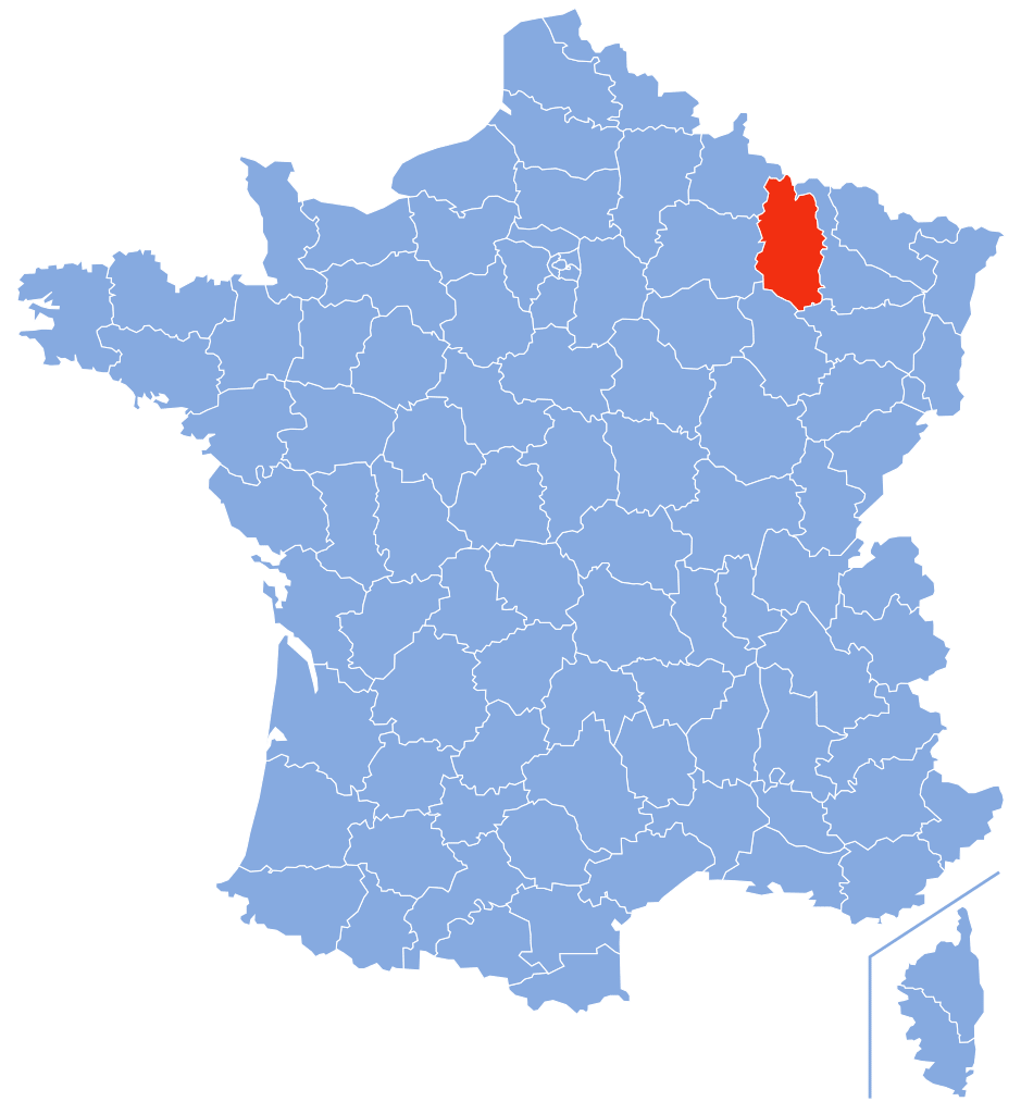 Meuse – Département 55