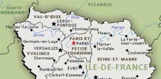 Carte Paris -Ile de France