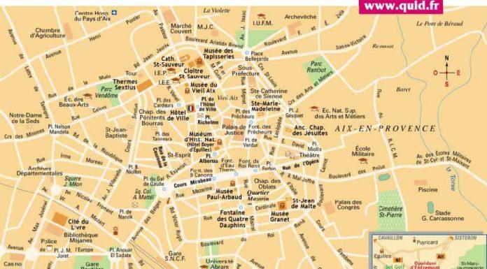 Info provence carte geographique - Distance salon de provence aix en provence ...