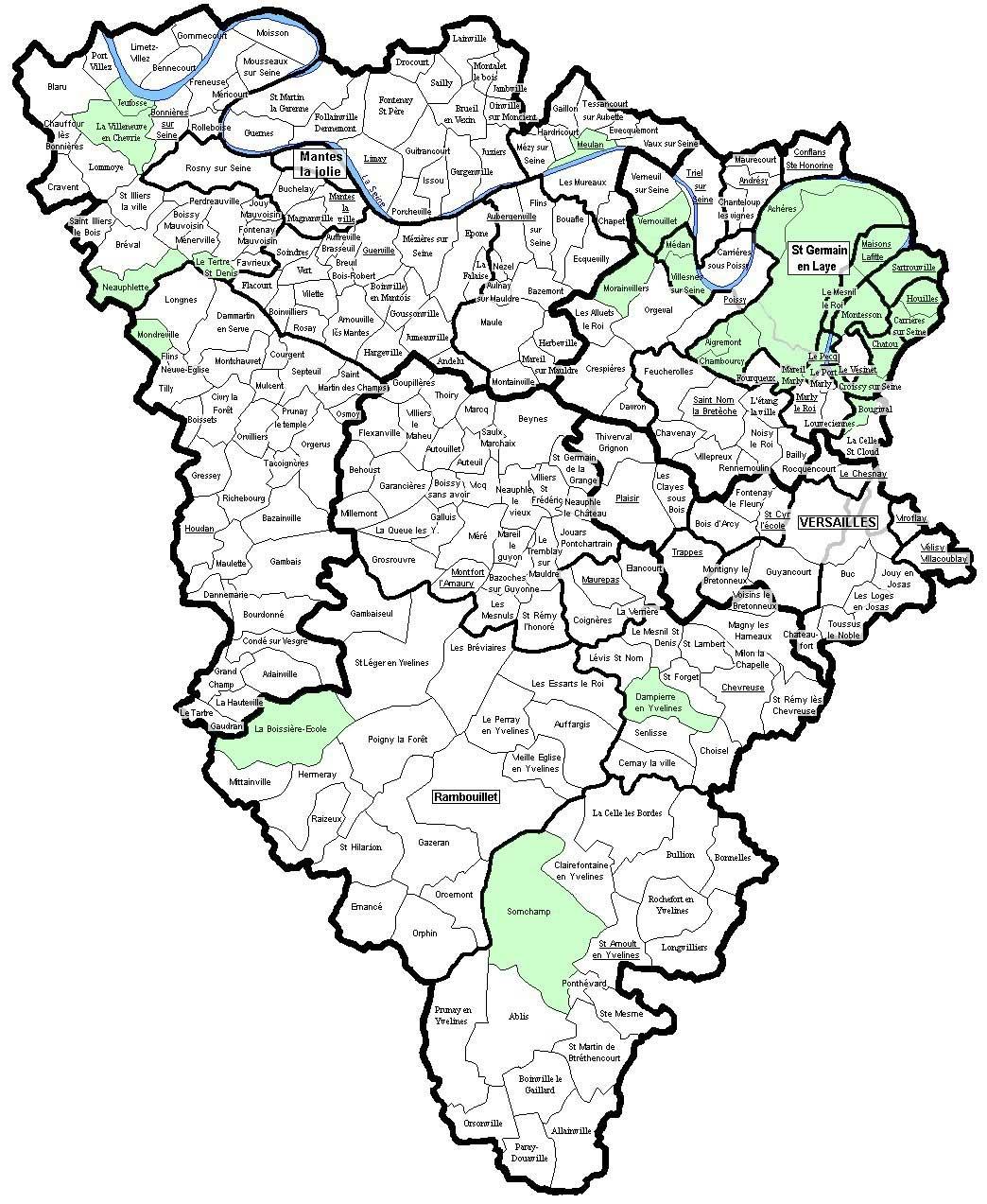 Yvelines – Département 78