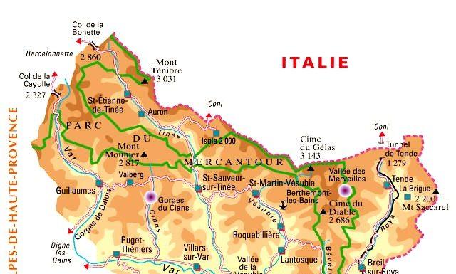 Département 06 - Alpes-Maritimes