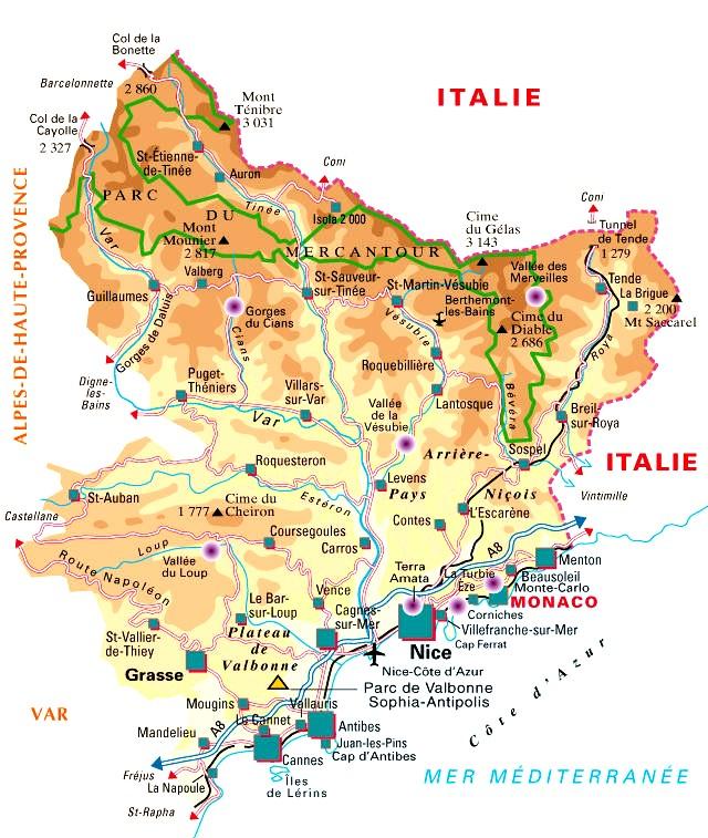 Alpes-Maritimes – Département 06