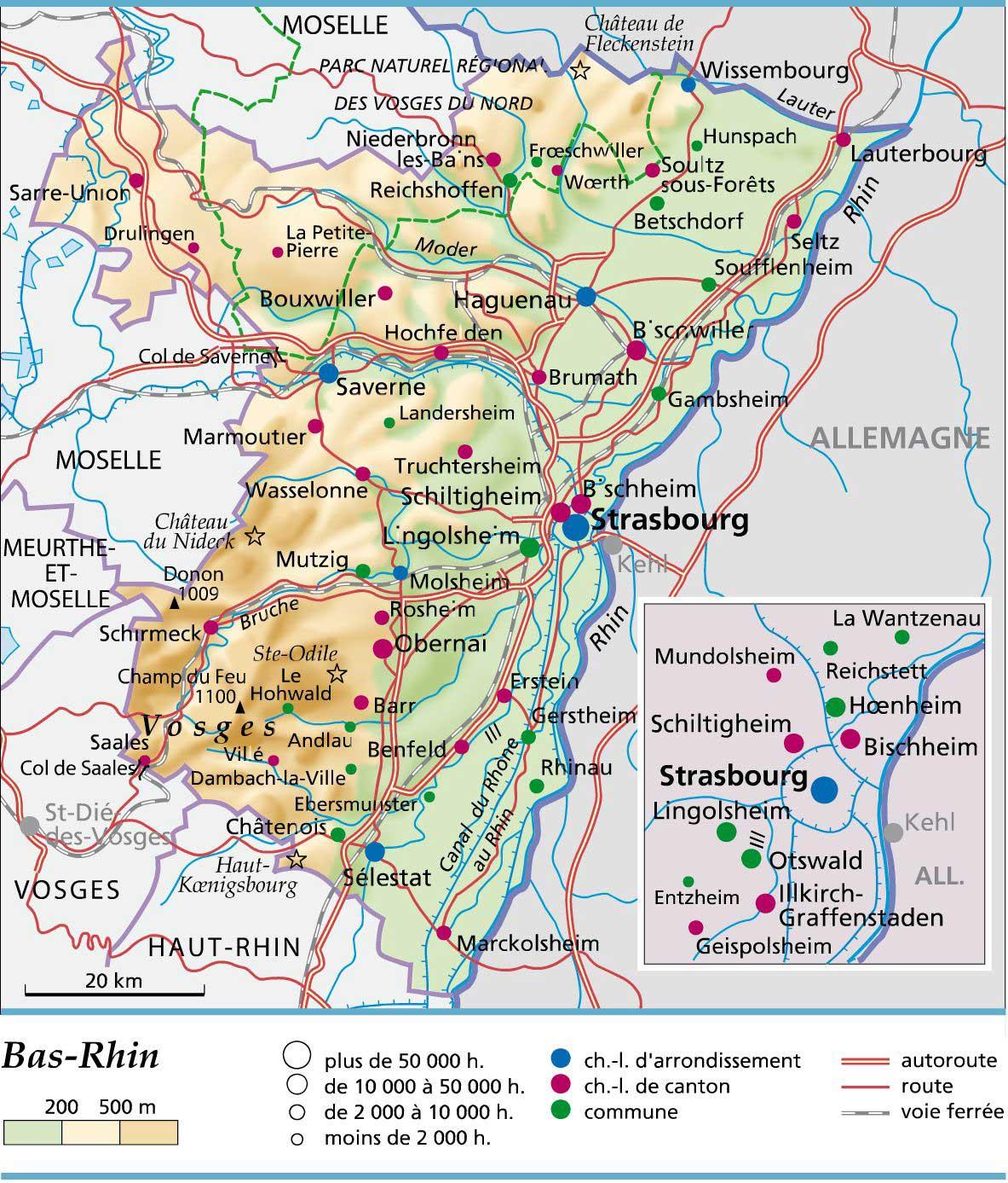 Bas-Rhin – Département 67