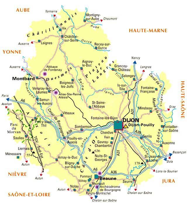 Côte-d Or – Département 21