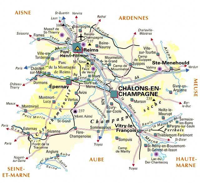 Marne – Département 51