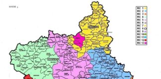 Carte Eure et Loir