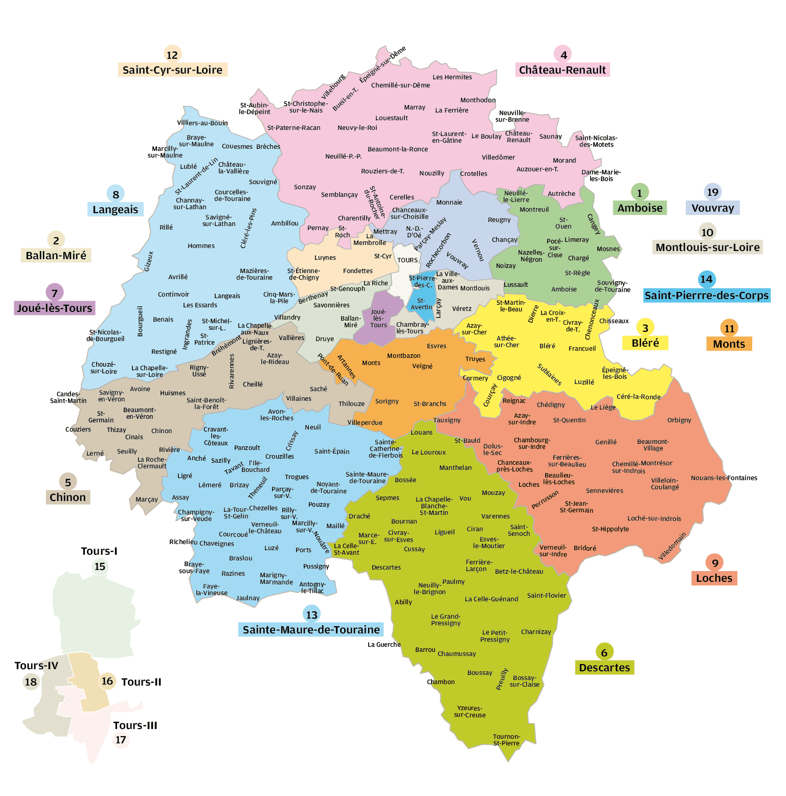 Indre-et-Loire – Département 37