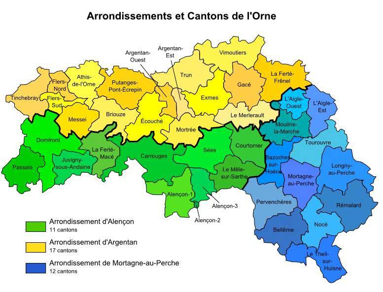 Orne – Département 61