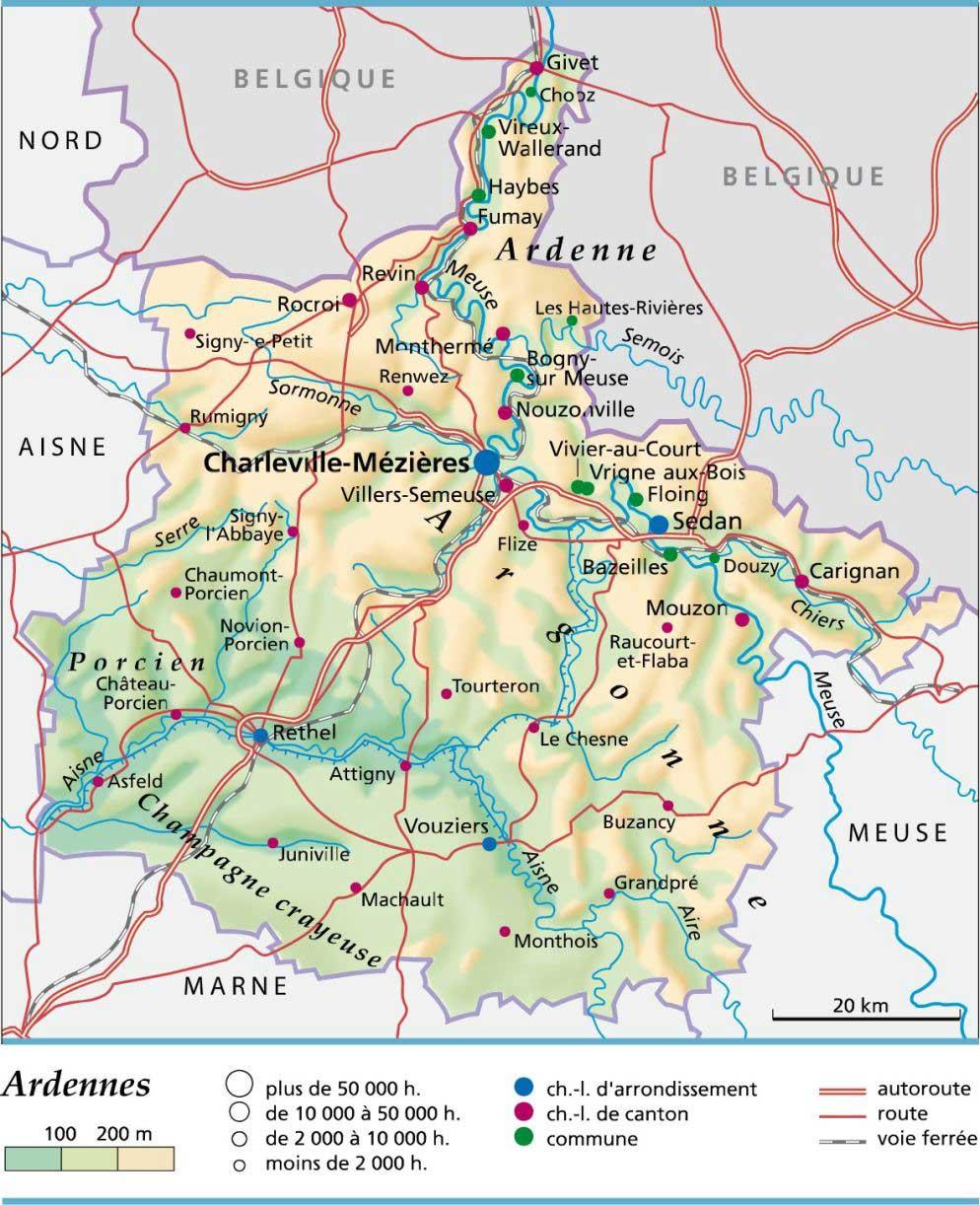 Ardennes – Département 08