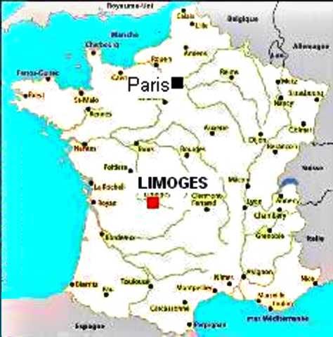 Dijon - Région Bourgogne - Voyages - Cartes