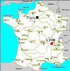 Lyon - carte de France