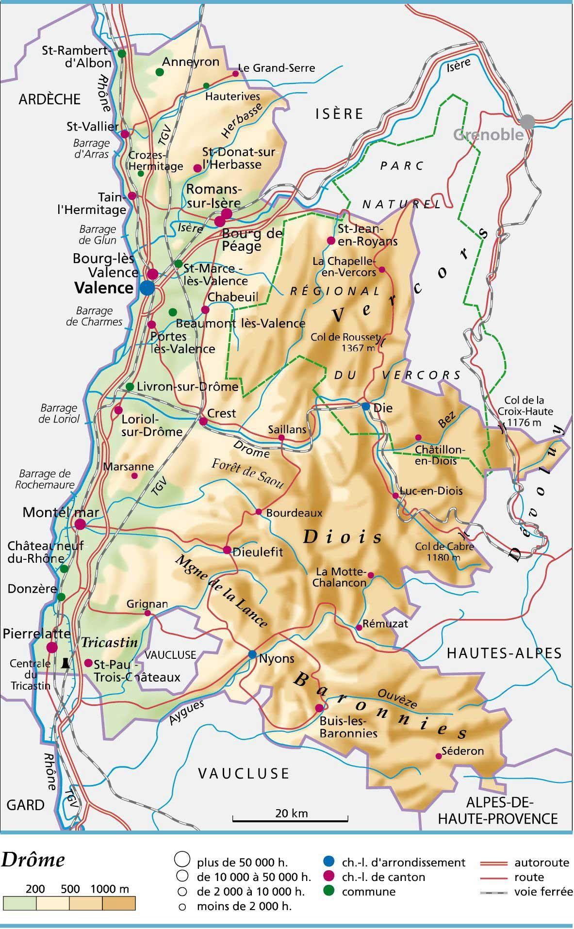 Drôme – Département 26