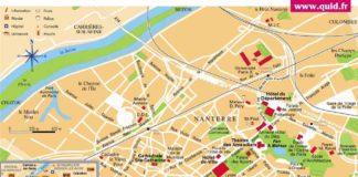 Carte de Nanterre